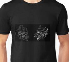 Optimus Prime Vs MechaGodzilla Styles Unisex T-Shirt