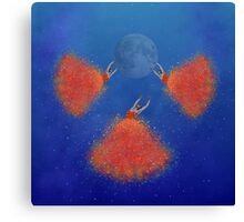 Dance me to the moon Canvas Print