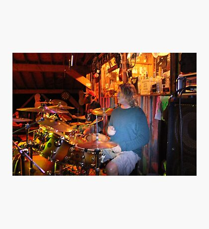 Michael Marlowe at Brenner Mountain's Magic Stage 6/27/16 Photographic Print