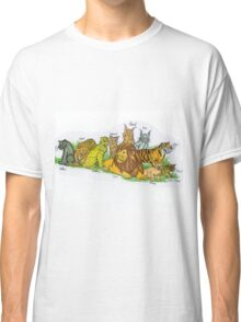 Find Your Pride! - Feline Family Classic T-Shirt