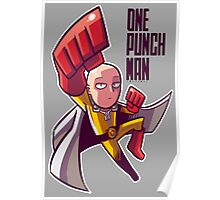 <ONE PUNCH MAN> Saitama Cartoon Style Poster