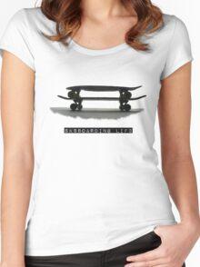 Sk88oarding Lif3 Women's Fitted Scoop T-Shirt
