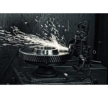 Sparks b/w Photographic Print