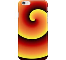 Sunset Swirl Be Bold iPhone Case/Skin