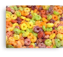 Fruity Loops Canvas Print
