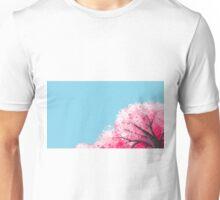 Pixel Cherry Blossom Unisex T-Shirt
