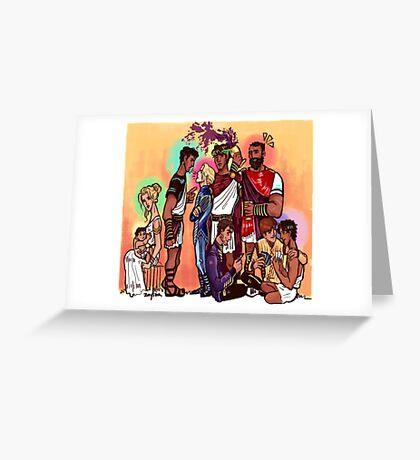 Captive Prince Family Greeting Card