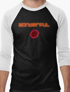Super Hexagon - Wonderful Men's Baseball ¾ T-Shirt
