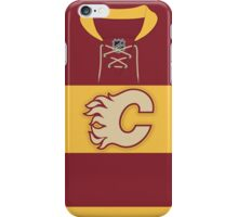 Calgary Flames 2011 Heritage Classic Jersey iPhone Case/Skin