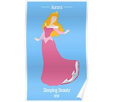 Sleepin Beauty Illustration Poster