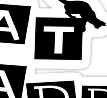 CAT DADDY Sticker