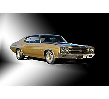 1970 Chevrolet Chevelle SS396 Photographic Print