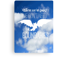 Boundaries Canvas Print