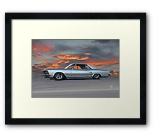 1963 Buick Riviera 'Sunset Strip' Framed Print