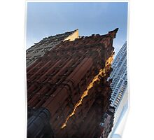 A Slice of Sunshine - Manhattan's Potter Building at Sunrise Poster
