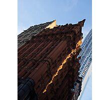 A Slice of Sunshine - Manhattan's Potter Building at Sunrise Photographic Print