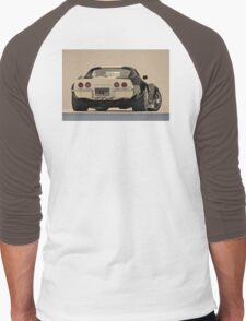 1969 Corvette Men's Baseball ¾ T-Shirt