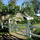 """Duninald"" Garden Gate by Gabrielle  Lees"