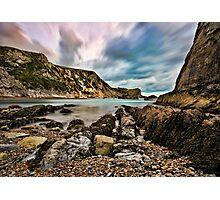 Man 'O' War Bay, Dorset, England Photographic Print