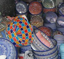 Moroccan pottery colour Sticker