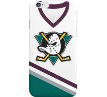 Mighty Ducks of Anaheim Home Jersey iPhone Case/Skin