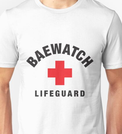Baewatch Lifeguard Unisex T-Shirt