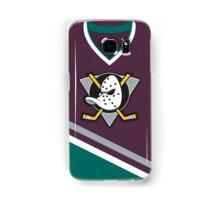 Mighty Ducks of Anaheim Away Jersey Samsung Galaxy Case/Skin