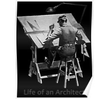 Life of an Architect Poster