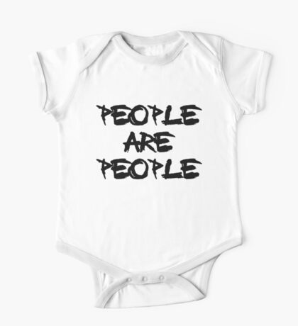 People Are People - Depeche Mode One Piece - Short Sleeve