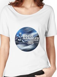 Barry Sanders for President 2016 Women's Relaxed Fit T-Shirt