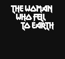 THE WOMAN WHO FELL TO EARTH Women's Fitted Scoop T-Shirt