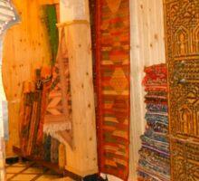 Moroccan carved door Sticker