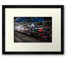 City of Melbourne Steam Train #3 Framed Print