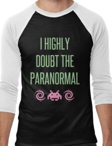 I Highly Doubt The Paranormal Men's Baseball ¾ T-Shirt