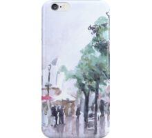 Main street, Gibraltar iPhone Case/Skin