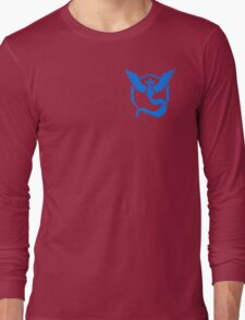 Team Mystic Symbol (Small + No Words) Long Sleeve T-Shirt