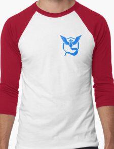 Team Mystic Symbol (Small + No Words) Men's Baseball ¾ T-Shirt