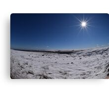 Winter In Yorkshire Canvas Print