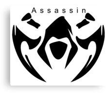 League of legends Assassin design  Canvas Print