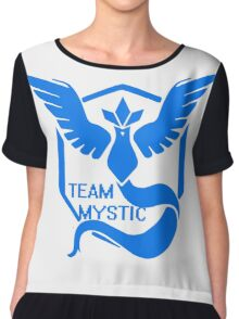 Team Mystic Symbol (Large) Chiffon Top