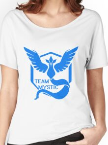 Team Mystic Symbol (Large) Women's Relaxed Fit T-Shirt