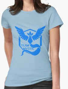 Team Mystic Symbol (Large) Womens Fitted T-Shirt