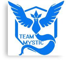 Team Mystic Symbol (Large) Canvas Print