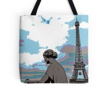 Eiffel Tower in Paris  Tote Bag