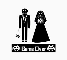 GAME OVER AFTER WEDDING MARRIAGE Unisex T-Shirt