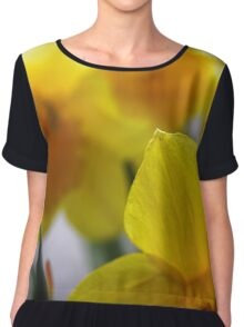 You'd be Daff'd not to get out in the Garden Chiffon Top