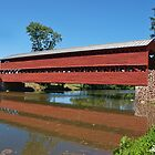 Sachs Covered Bridge by Lanis Rossi