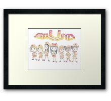 Fireside Girls Squad Framed Print