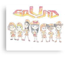 Fireside Girls Squad Canvas Print