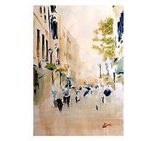 Main street, Gibraltar Photographic Print
